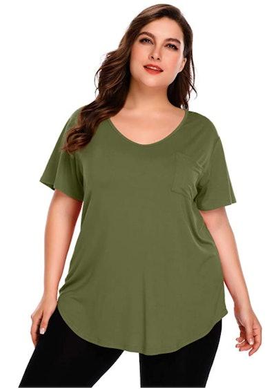 BELAROI Plus Size Tunic Top