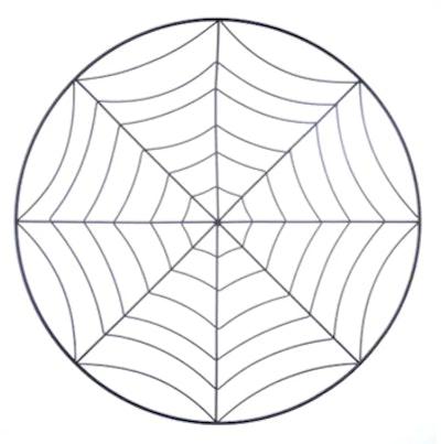 """16.75"""" Spiderweb Wreath Form by Ashland®"""