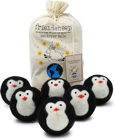 Friendsheep Wool Dryer Balls (6-Pack)