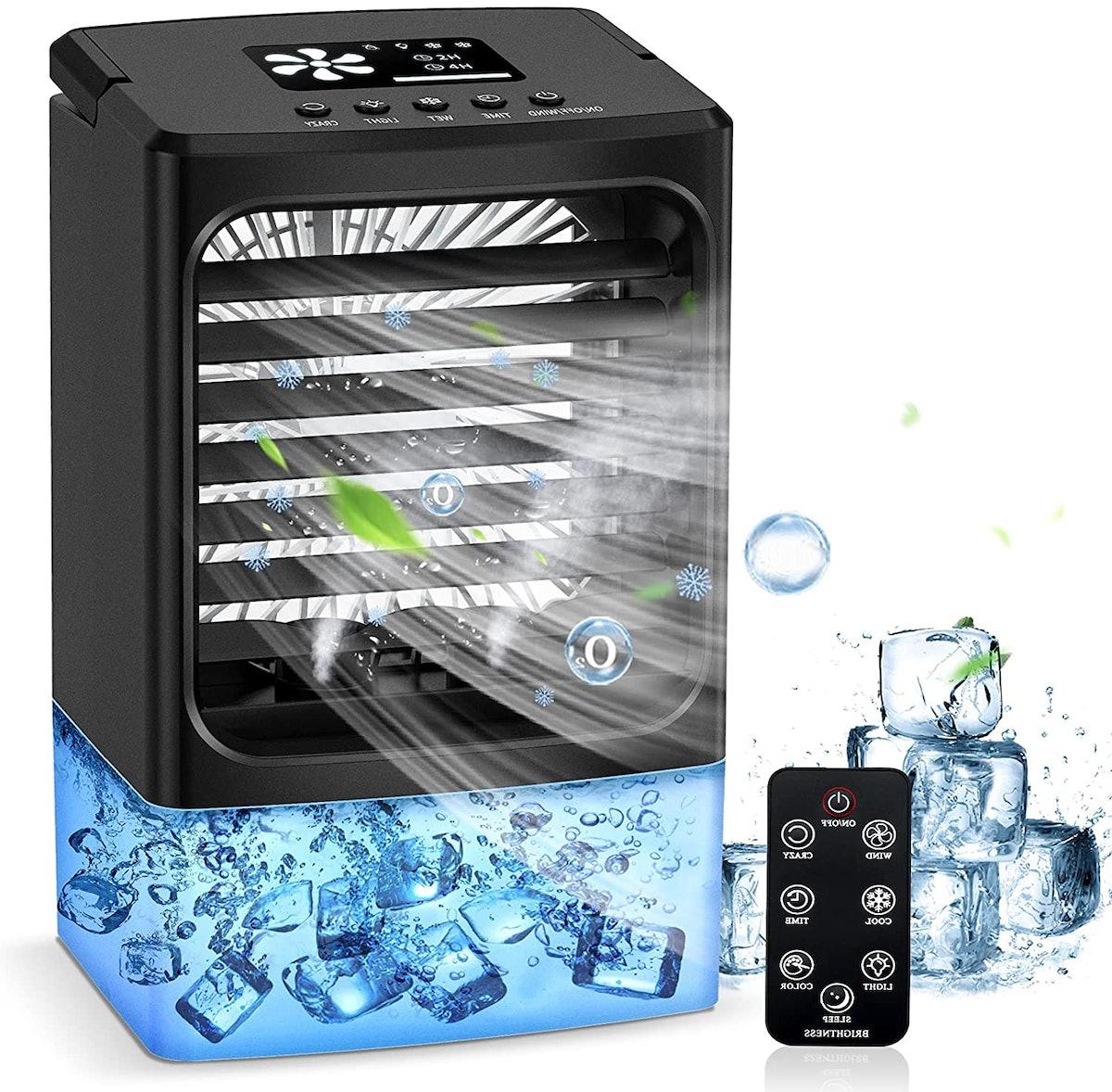 OYRGCIK Portable Air Conditioner Fan
