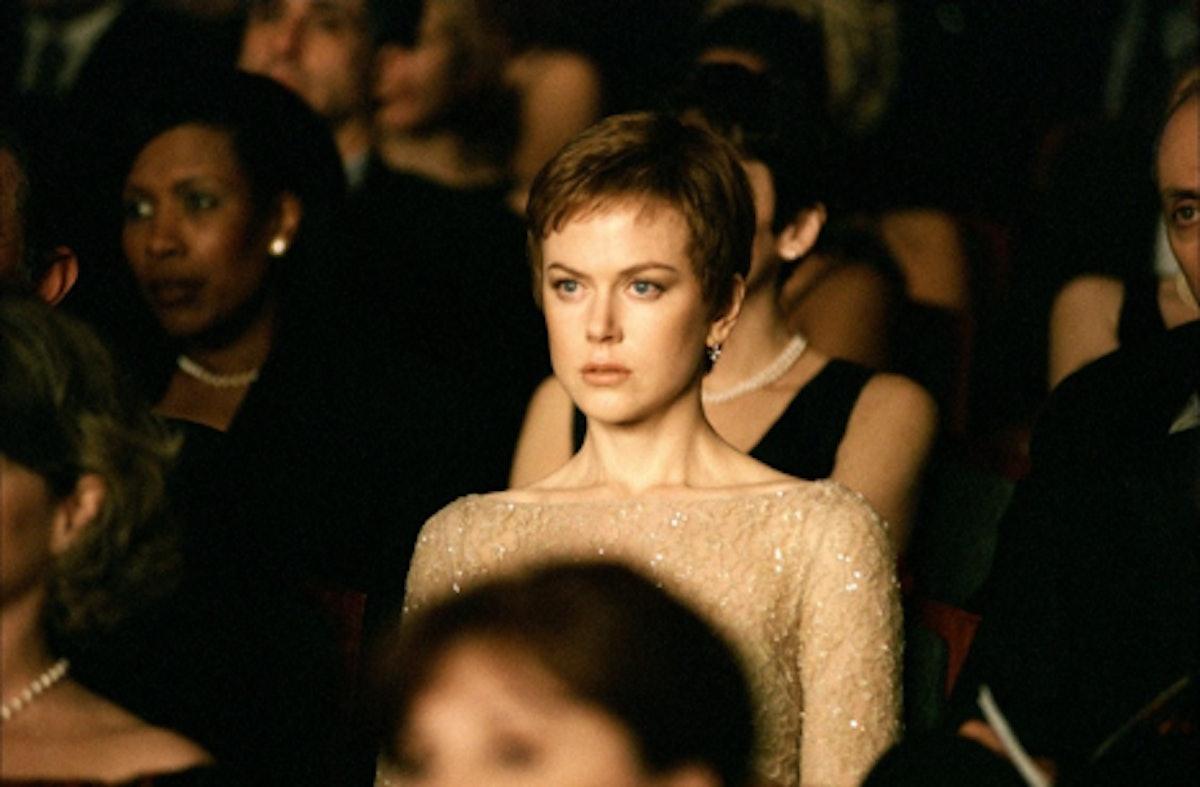 Nicole Kidman pixie cut