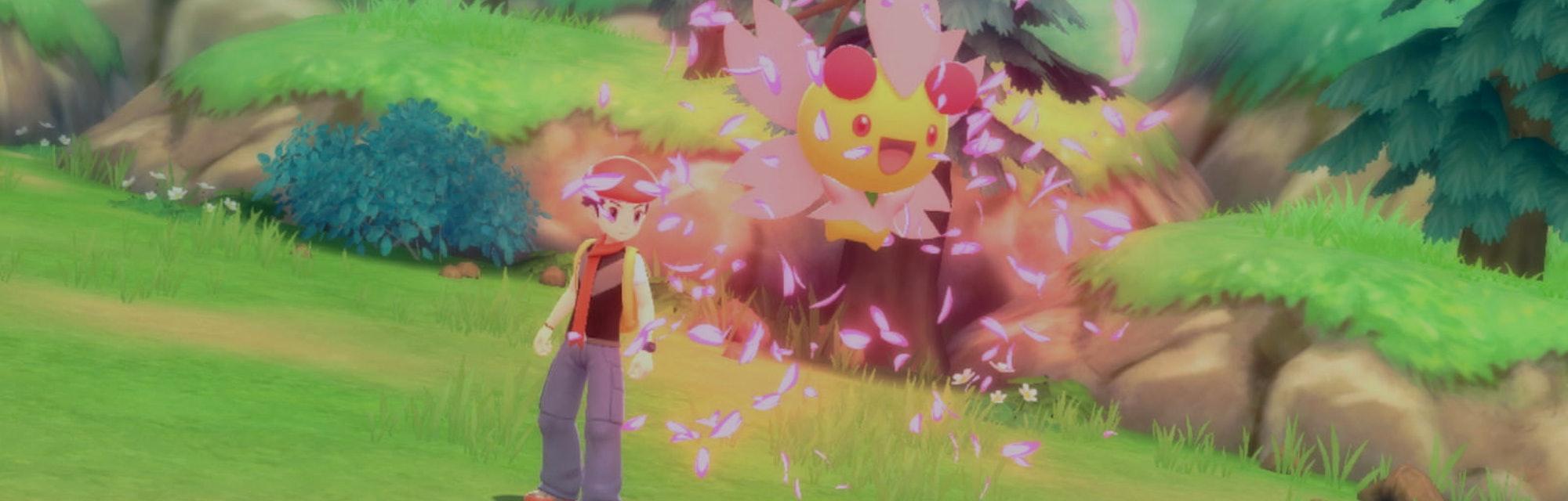 A screenshot of Pokemon Shining Pearl