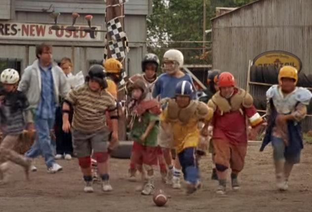 Rick Moranis stars in 'Little Giants.'