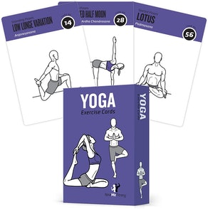 NewMe Fitness Yoga Cards