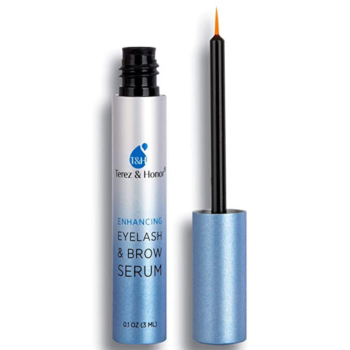 TEREZ & HONOR Natural Eyelash Growth Serum and Brow Enhancer