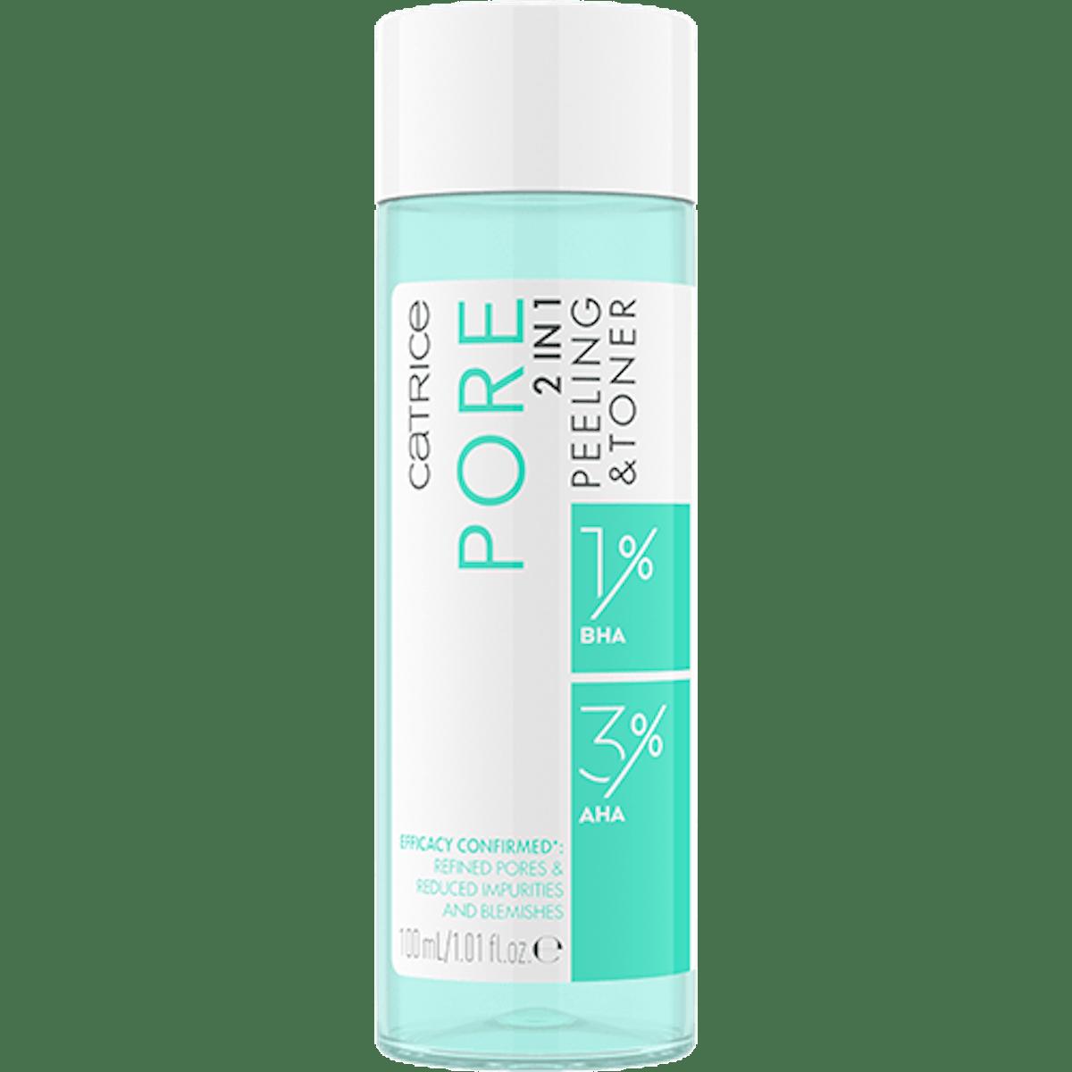 Catrice Cosmetics Pore 2-in-1 Peeling & Toner