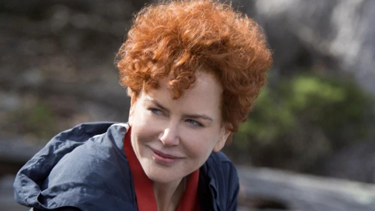 Nicole Kidman red wig