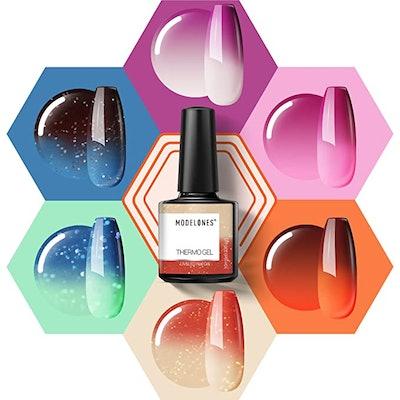 modelones Color Changing Gel Nail Polish