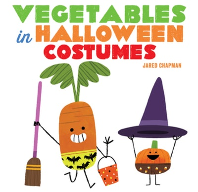 'Vegetables In Halloween Costumes' written and illustrated by Jared Chapman