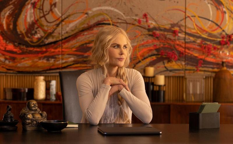 Masha (Nicole Kidman) looking pensive in her office in 'Nine Perfect Strangers.'
