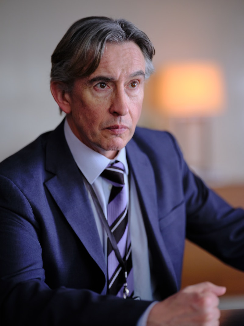 Stephen actor STEVE COOGAN as Clive Driscoll