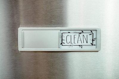 BabyPop! Dishwasher Magnet Clean/Dirty Sign Indicator