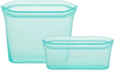 Zip Top Reusable Food Storage Bags (2-Pack)