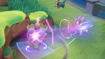 pokemon unite sylveon screenshot