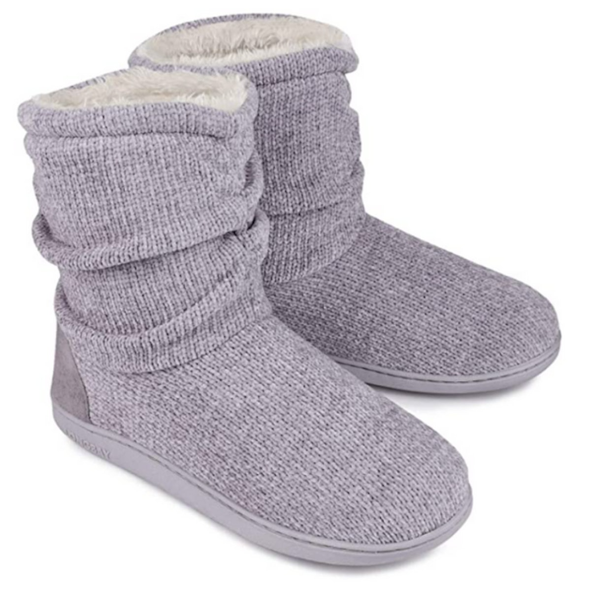 LongBay Chenille Knit Bootie Slippers