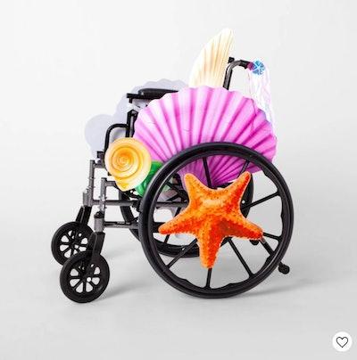 Mermaid Wheelchair Halloween Costume