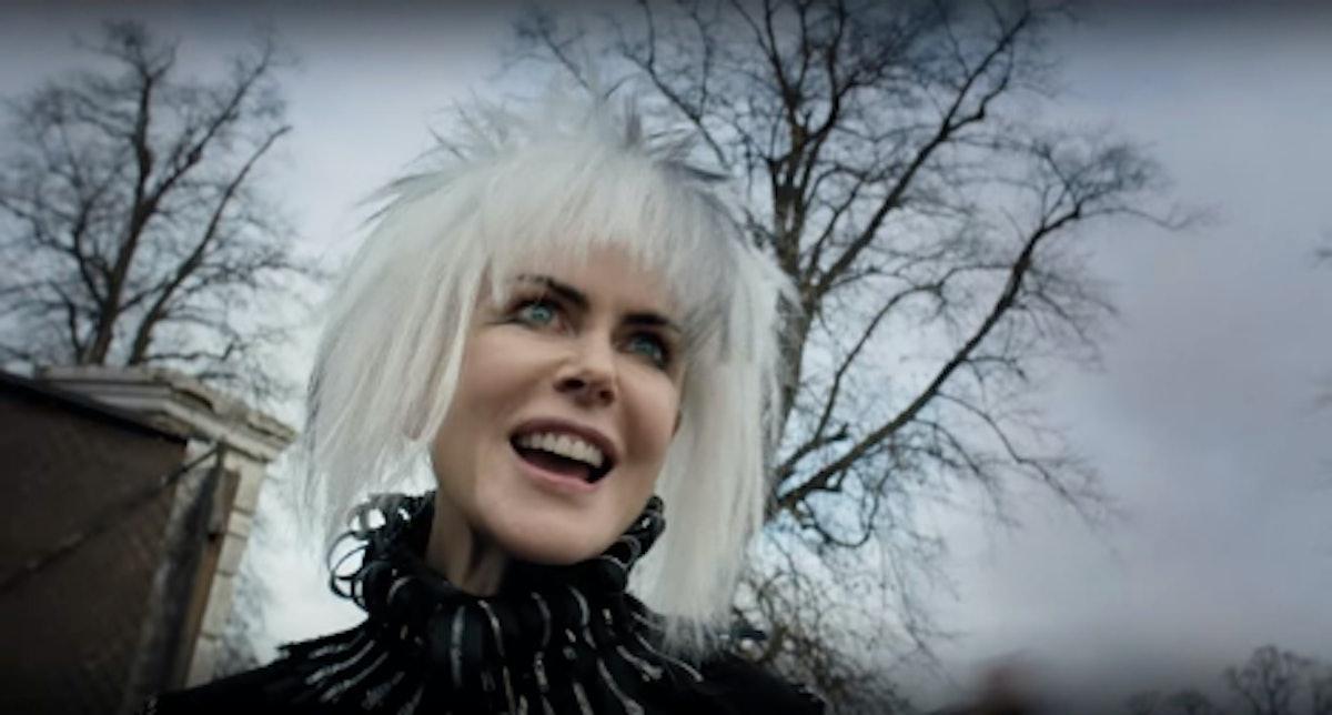Nicole Kidman white wig