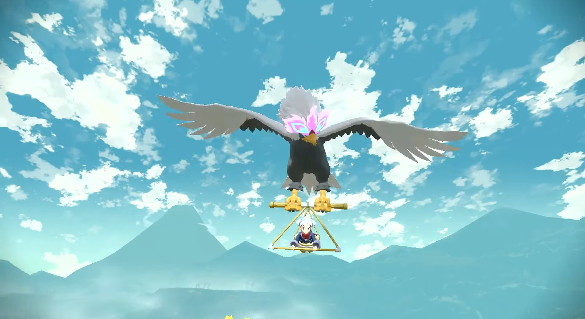 Player can fly around on Hisuian Braviary