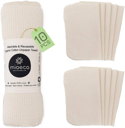 Mioeco Reusable Unpaper Towels (10-Pack)