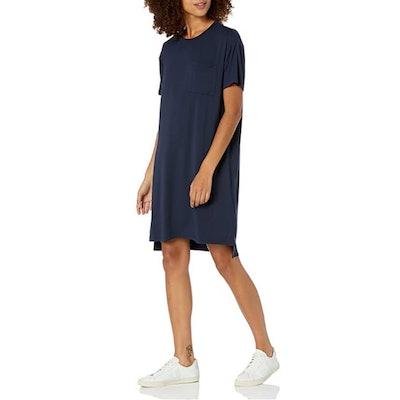 Daily Ritual Jersey Boxy T-Shirt Dress