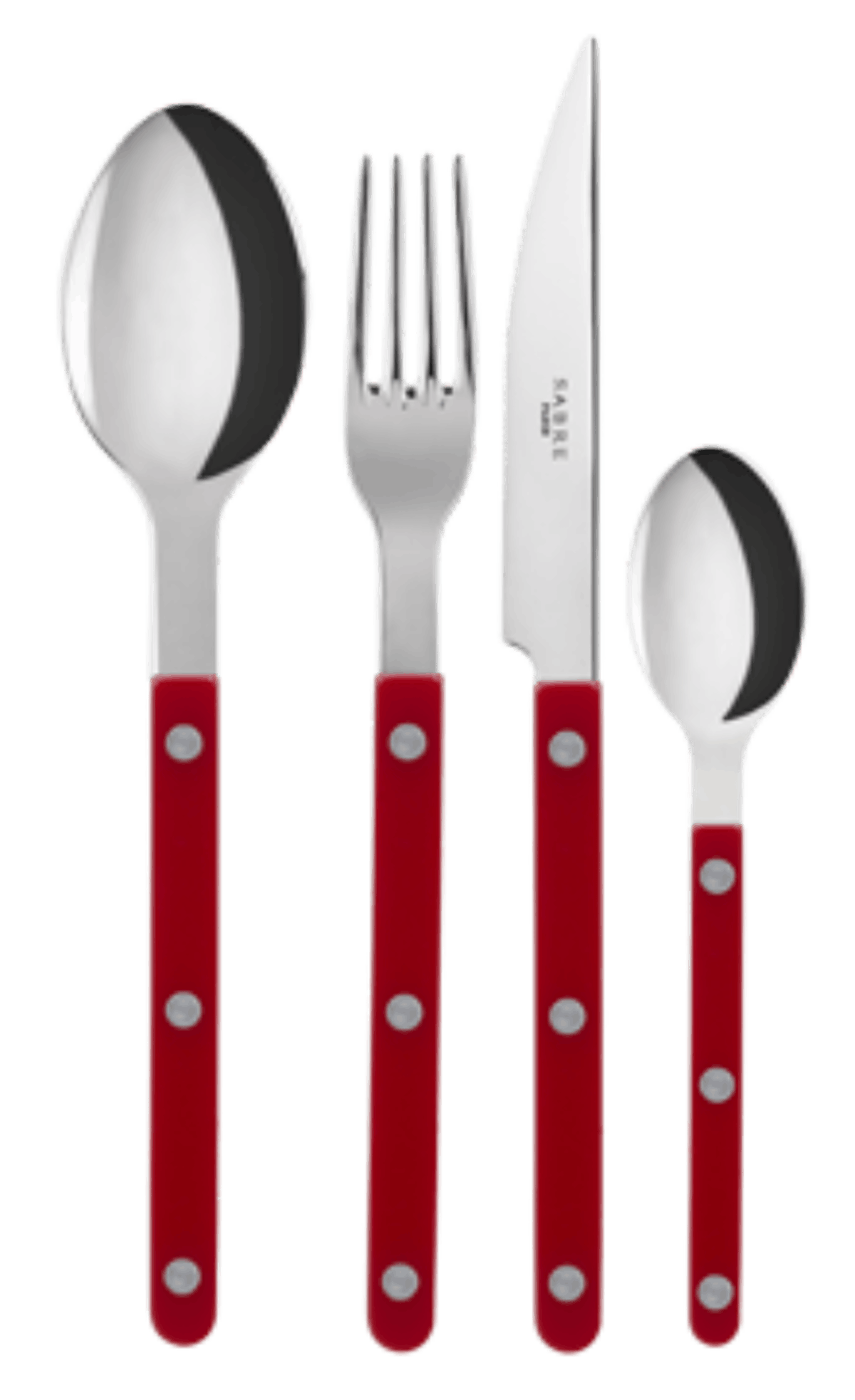 Red Bistrot Cutlery Set