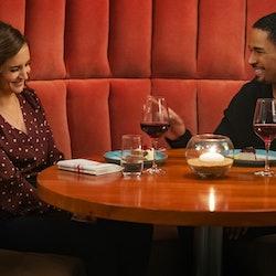 Rachael Leigh Cook and Damon Wayans Jr. star in original streaming romance 'Love, Guaranteed.' Photo...