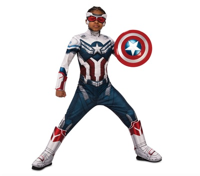 Captain America Deluxe Costume for Kids - The Falcon and the Winter Soldier