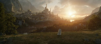 Our first look at Valinor in Amazon's Lord of the Rings TV series