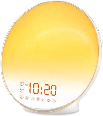 JALL Sunrise Simulation Alarm Clock