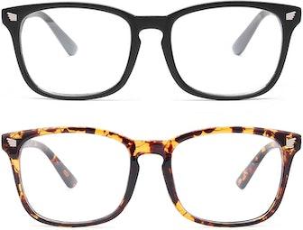 livho Blue Light-Blocking Glasses (2 Pairs)