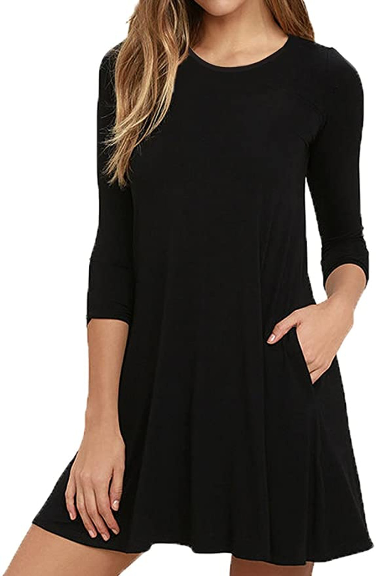VIISHOW A-line Casual T-Shirt Dress with Pockets