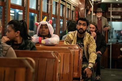 Isaa Rae and Kumail Nanjiani star in 'The Lovebirds.' Photo via Netflix