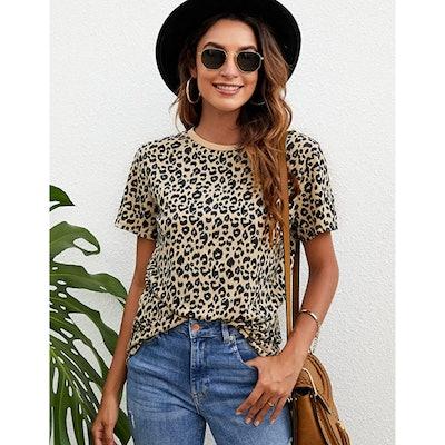 BMJL Leopard Print Top