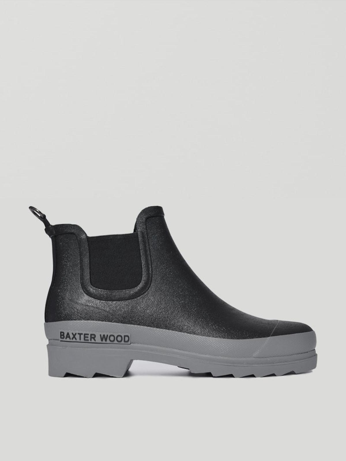 Baxter Wood Grey Sole Hevea Chelsea Boots