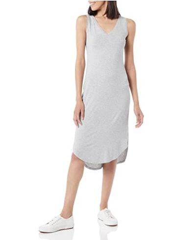 Daily Ritual Sleeveless Midi Dress