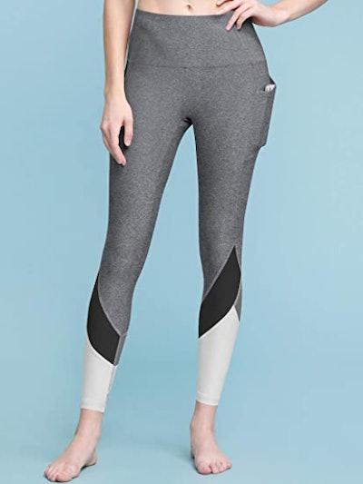 Lock and Love Color Block Yoga Pants