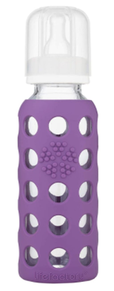 Single Lifefactory Glass Baby Bottle