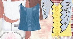 ten corset tops in various styles