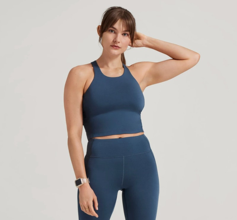 Just launched is the Allbirds activewear line, which brings its signature eco-friendly and comfy mat...