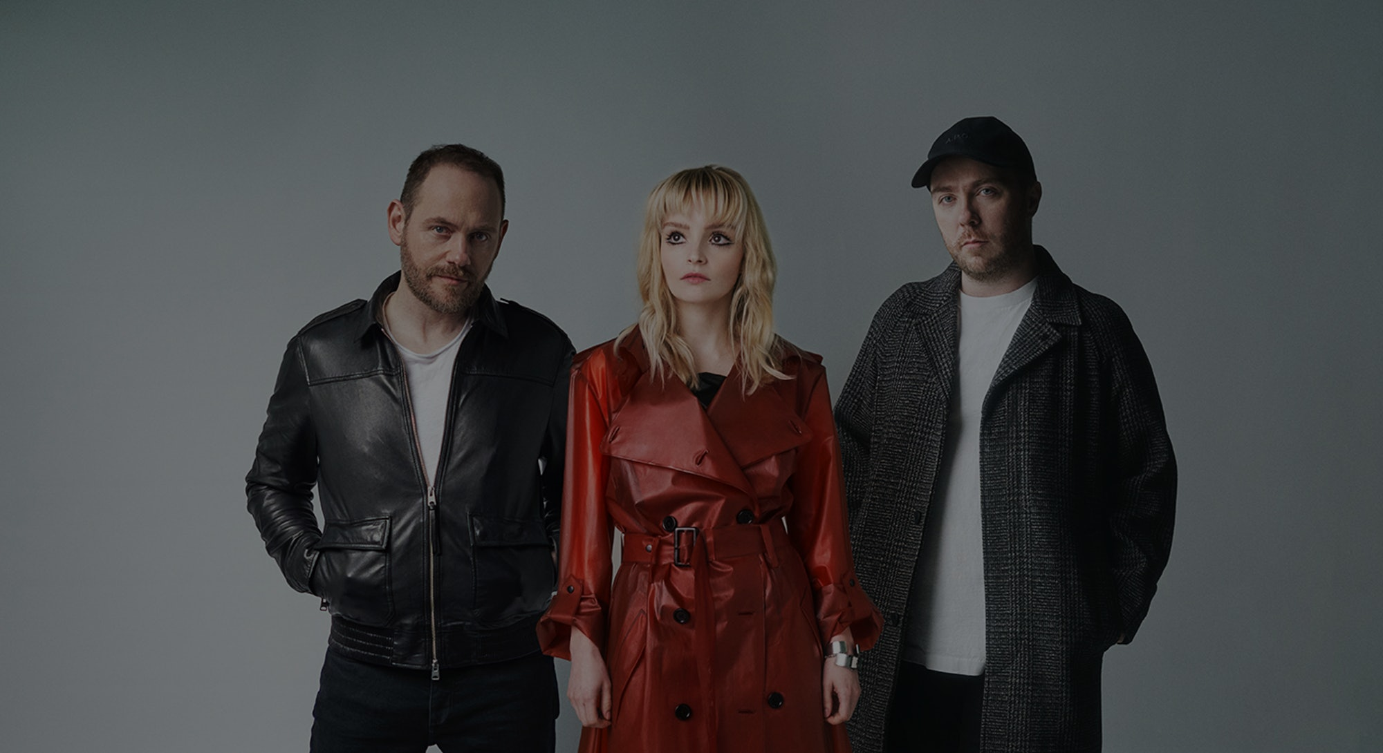 The indie synth-pop band Chvrches