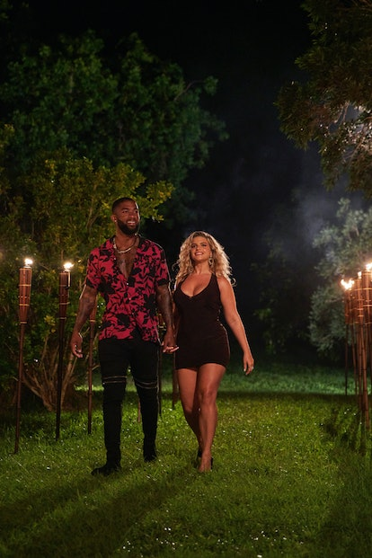 Alana and Charlie got together late in the 'Love Island US' game. Photo via CBS