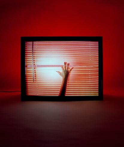 Cover art for Chvrches' album 'Screen Violence'