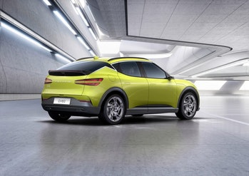 Genesis has unveiled the GV60, its first electric car built from the ground up on an electrified pla...