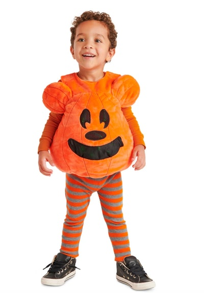 Mickey Mouse Pumpkin Light-Up Treat Holding Costume for Toddlers