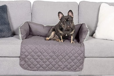 Furhaven Water-Resistant Reversible Two-Tone Furniture Cover