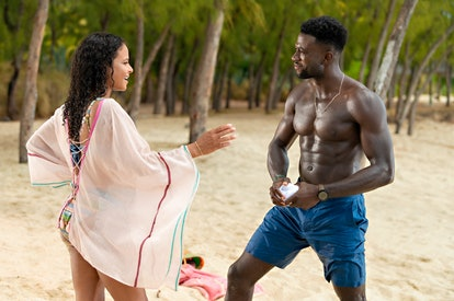 Christina Milian and Sinqua Wells star in 'Resort to Love.' Photo via Netflix