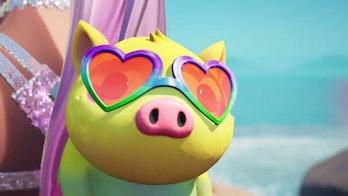 fortnite ariana grande piggy back bling