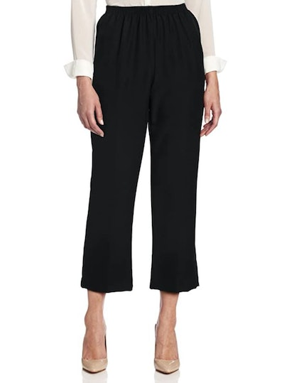 Alfred Dunner Cropped Missy Pants