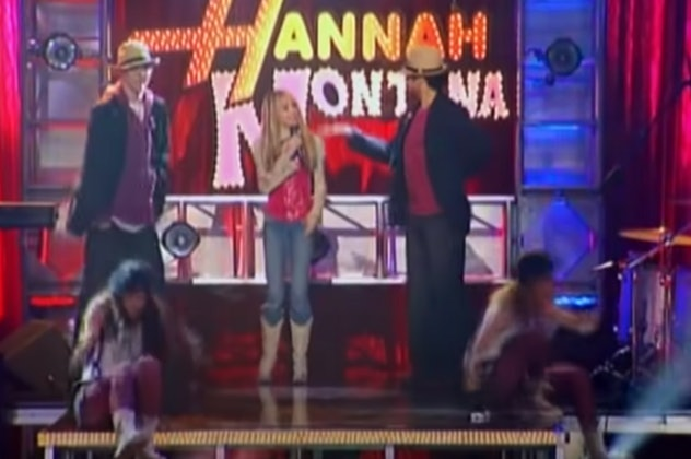 "Miley Cyrus stars in ""Hannah Montana."""