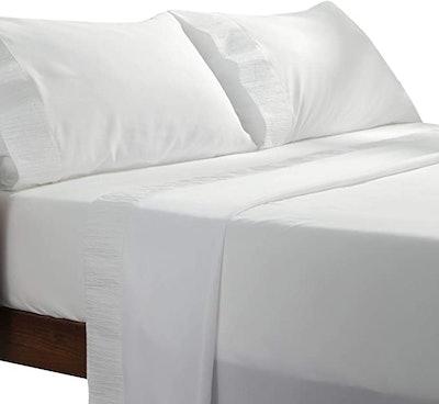 Bedsure White Sheets (4 Pieces)